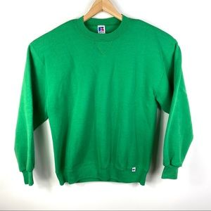Vgt 90s Russell Athletic Blank Sweatshirt Made Us